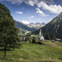 Zaferna Mittelberg Schafalpkoepfe Panorama @Dominik Berchtold
